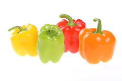 Vegetables, Bulgarian Pepper Royalty Free Stock Photos