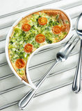 Vegetables cake Stock Photo
