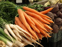 Vegetables - carrots Stock Image