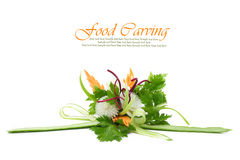 Vegetables carving Royalty Free Stock Photo