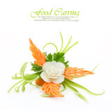Vegetables carving Royalty Free Stock Images