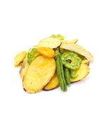 Vegetables chips Royalty Free Stock Images