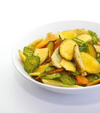 Vegetables chips Royalty Free Stock Photos