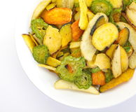 Vegetables chips Royalty Free Stock Photo