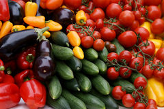 Vegetables Closeup Stock Photos