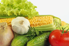 Vegetables closeup Royalty Free Stock Photography