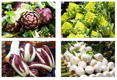 Vegetables at market Royalty Free Stock Images