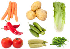 Vegetables collection  Stock Photography
