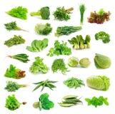 Vegetables collection Stock Photos