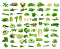 Vegetables collection  on white background. Vegetables collection isolated on white background Royalty Free Stock Photography