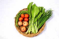 Vegetables. Colorful vegetables on white background Royalty Free Stock Image