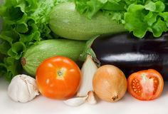 Vegetables composition Royalty Free Stock Photography