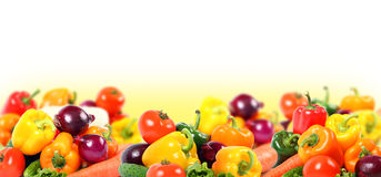 Vegetables composition Stock Images