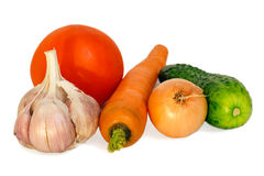 Vegetables composition. Stock Photo