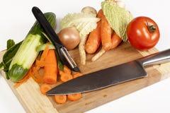 Vegetables composition Stock Photos