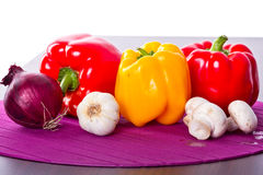 Vegetables for cooking. In kitchen Stock Images