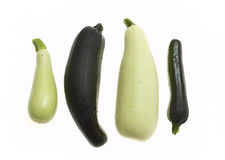 Vegetables: courgette and squash Stock Image