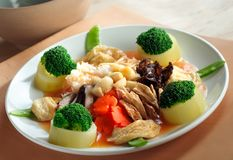 Vegetables cuisine Stock Image