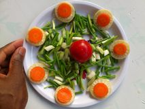 VEGETABLES AND CULINARY ART Stock Photo