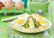 Vegetables curry with eggs Royalty Free Stock Image