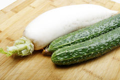 Vegetables on a cutting board Stock Photography