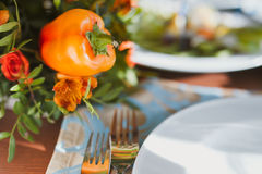 Vegetables decor (vegetarian) Stock Photo