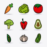 Vegetables design Stock Photography