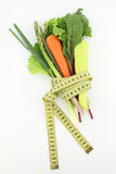 Vegetables and diet Stock Photography