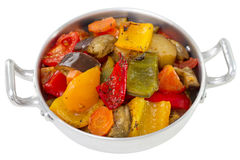 Vegetables on dish Royalty Free Stock Photo