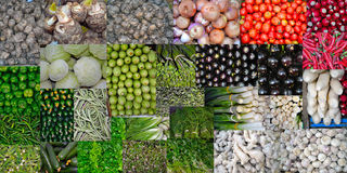 Vegetables Diverse and colorful texture Stock Photo