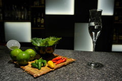 VEGETABLES FOR DRINK Royalty Free Stock Images