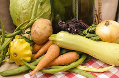 Vegetables from the farm Stock Photo