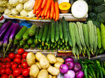 Vegetables at farmer market Stock Photo