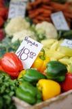Vegetables at farmers market Stock Photos