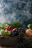 Vegetables food background. Food closeup Royalty Free Stock Image