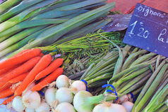 Vegetables, food market Stock Photography