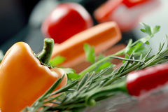 Vegetables. Macro. Stock Photos
