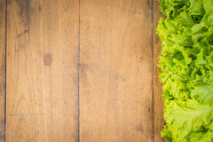 Vegetables Frame Background. Fresh vegetables on the old wooden board Royalty Free Stock Photo