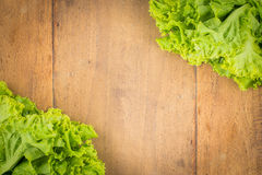 Vegetables Frame Background Stock Images