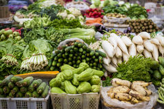 Vegetables. Fresh vegetables in Chinese market stock image