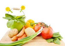 Vegetables fresh from the garden Royalty Free Stock Photography