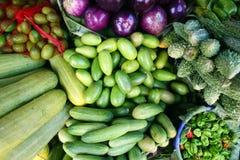 Vegetables. Fresh vegetables for sale in farmers market Stock Images