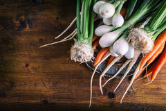 Vegetables. Fresh vegetables. Colorful vegetables background. Healthy vegetable studio photo. Assortment of fresh vegetables. Royalty Free Stock Photo