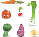 Vegetables friends Royalty Free Stock Image