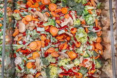 Vegetables frozen Stock Images