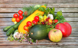 Vegetables and fruit Royalty Free Stock Photo