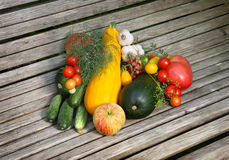 Vegetables and fruit Royalty Free Stock Image