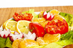 Vegetables and fruit Royalty Free Stock Photography
