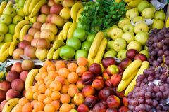 Vegetables and fruit. On a counter Stock Photo