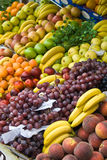 Vegetables and fruit. On a counter Royalty Free Stock Images